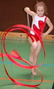 Rhythmische Gymnastik Minis (6-10 Jahre)