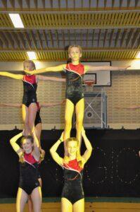Sportakrobatik Fortgeschrittene (8-18 Jahre)