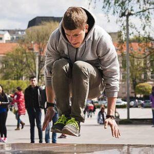 Parkour und Freerunning Kids 1 (6-8 Jahre) VS Anton Brucknergasse